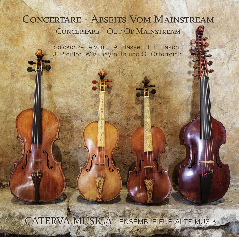CD Concertare - Abseits vom Mainstream